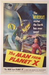 image of movie poster: The Man From Planet X
