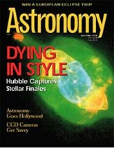 cover of April 1998 Astronomy Magazine