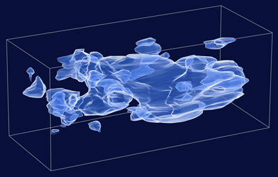 3D map of dark matter