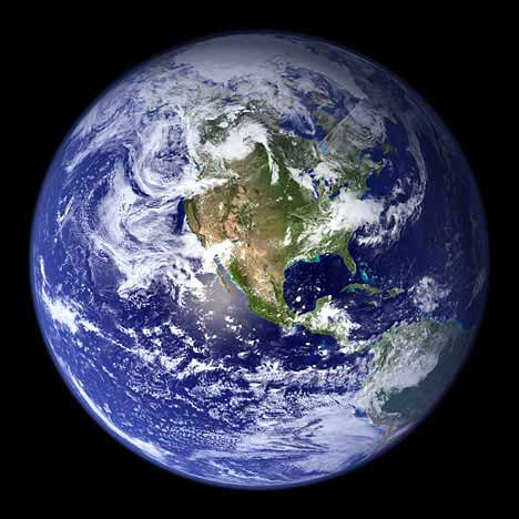 NASA image of the whole Earth