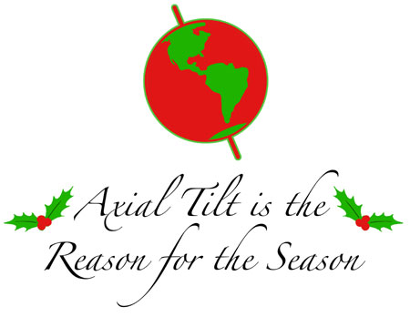 Axial Tilt is the Reason for the Season!