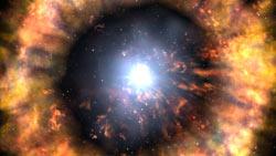 Dana Berry artwork of a supernova