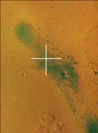 Mars Express image of Gusev