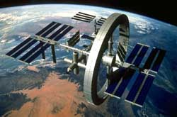 image of space station