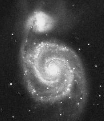 image of galaxy M51 taken through a good 'scope