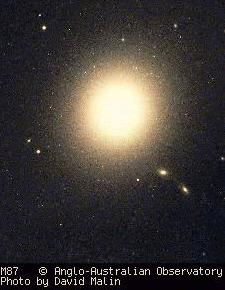 image of galaxy M87