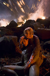 Superman and Martha Kent, 