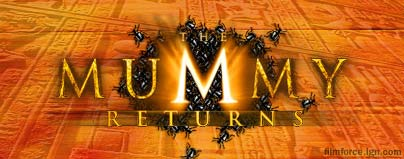 The Mummy Returns logo