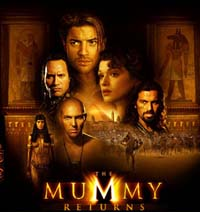 poster for The Mummy Returns
