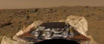 color image of rover