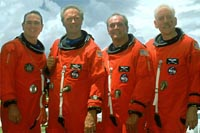 image of all four astronauts